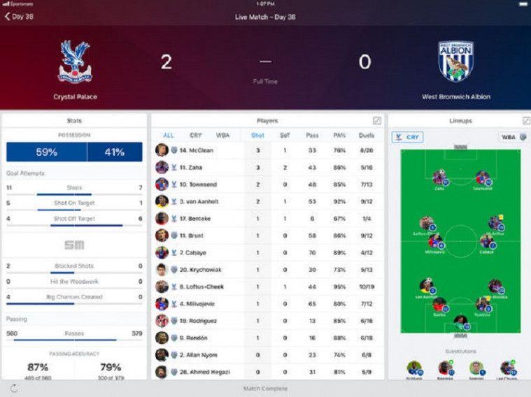Aplikasi Live Skor dan Jadwal Bola Android Terlengkap